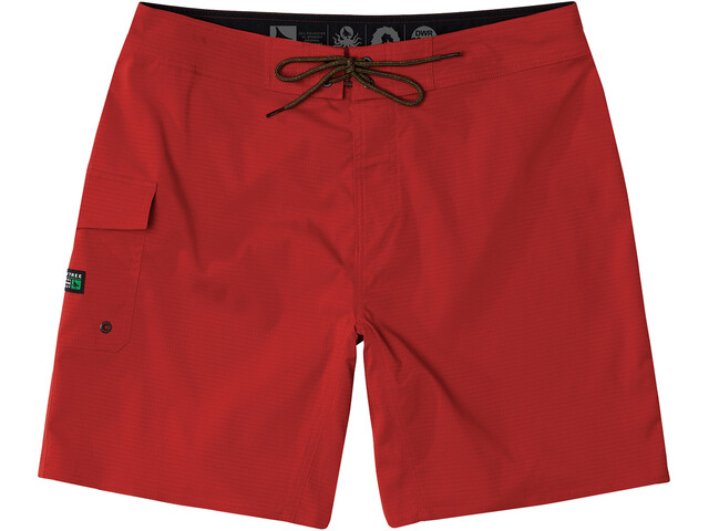 Hippy Tree Patrol Short de bain Homme, red